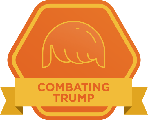 Combating Trump