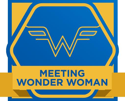 Meeting Wonder Woman
