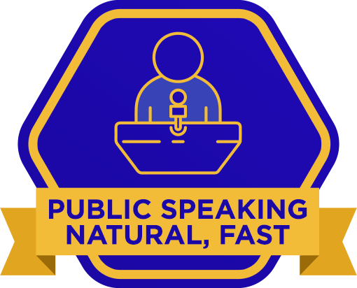 Public Speaking Natural, Fast